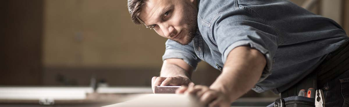 self employed carpenter